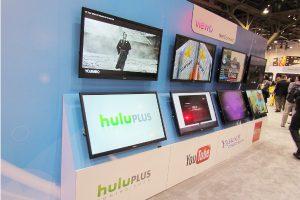 数多くの最新TV