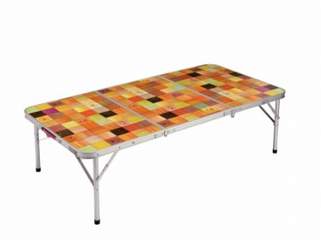 ナチュラルモザイク(TM)リビングテーブル/140プラス