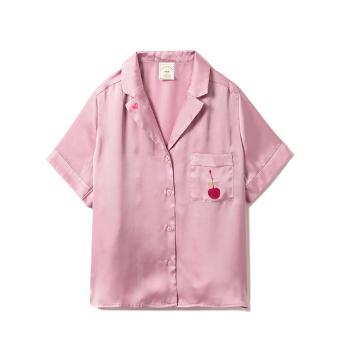 ジェラート ピケ モチーフサテンシャツ