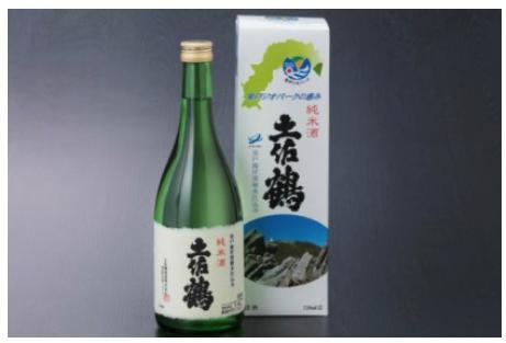 土佐鶴室戸ジオパークの恵み純米酒720ml