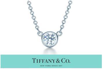 ティファニー TIFFANY & Co. ダイヤモンド バイ ザ ヤード ペンダント 0.08カラット