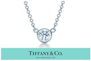 ティファニー TIFFANY & Co. ダイヤモンド バイ ザ ヤード ペンダント 0.14カラット