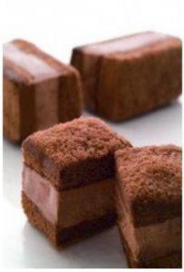 【しっとりふわふわ】アリスのスティックチーズと生チョコサンド