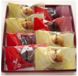 喜多野 洋風和菓子 ミルク・チョコ・いちご