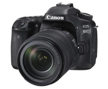 キヤノン一眼レフカメラ(EOS80D(W) EF-S18-135 IS USM レンズキット)