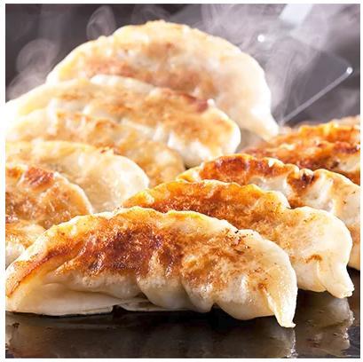 エビ入り餃子と九州産黒豚餃子セットの計50個