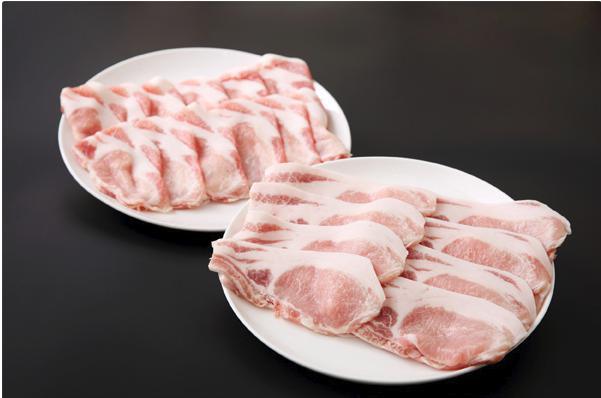 「三元豚」で生姜焼きとしゃぶしゃぶセット