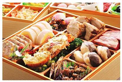【さとふる限定】<2019年新春>潮来三段重特製おせち料理(結び)