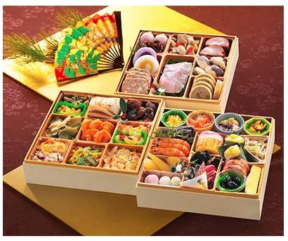 【さとふる限定】<2019年新春>金目鯛入りいぶすき三段重特製おせち(薩摩のたまて箱)