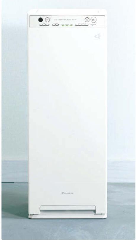 加湿ストリーマ空気清浄機ACK55U(ホワイト)