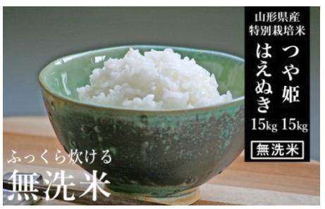【山形産 2銘柄食べ比べ】 つや姫・はえぬき 無洗米