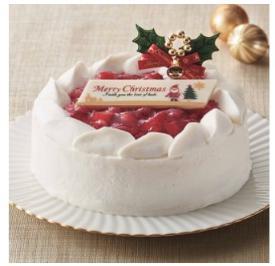 【クリスマスケーキに】プレミアムファミリーホワイト