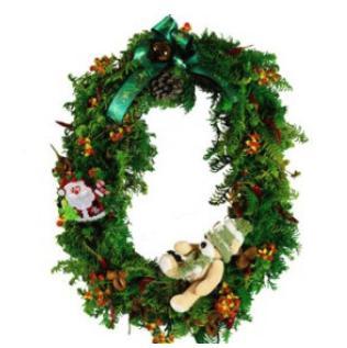 クリスマスリース typeB ※クレジット決済限定