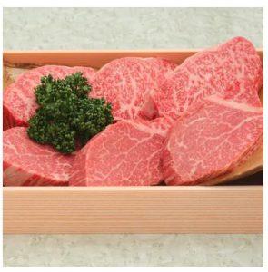 和牛専門焼肉店が厳選した ロース、ヒレのステーキ盛り合わせ約930g