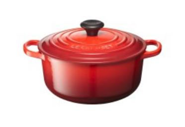 Le Creuset ル・クルーゼ シグニチャーココット・ロンド 20cm (チェリーレッド)
