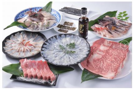 高級魚を身近に!手間いらず5魚種+松阪牛コース