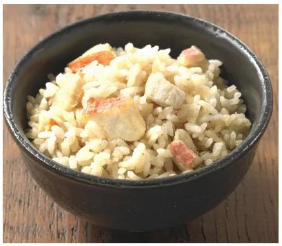 レンジでチン♪保存食にどうぞ!高級魚キンメダイの炊き込みごはん4P(冷凍)sat137