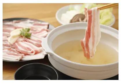 (藤岡食品)九州産 豚バラ肉 スライス しゃぶしゃぶ用【1kg(500g×2)】(福岡県古賀市)