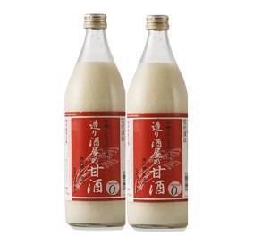 造り酒屋の甘酒(無添加)900ml2本