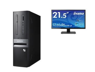 「made in 飯山」マウスコンピューター スリム型デスクトップ「Lm-iHS410EN-IIYAMA」(ディスプレイ付属モデル)