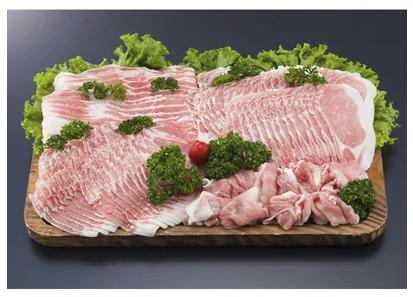 きなこ豚 しゃぶしゃぶお楽しみセットA 計1.8kg