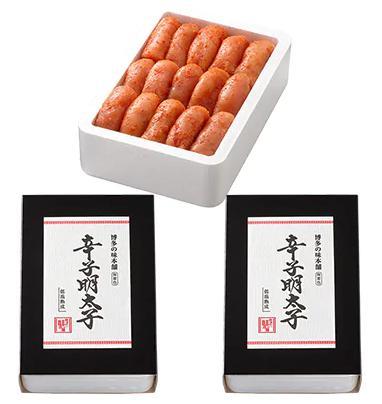 辛子明太子切れ子【無着色・二段仕込】1kg(500g×2)